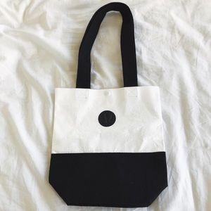 Lululemon Black & White Tote Bag